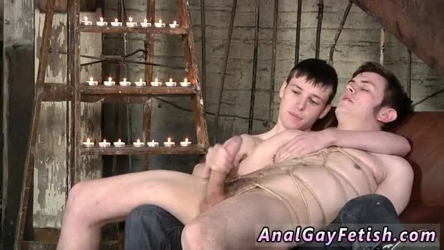 Male-bondage-art-adult-gay-Kicking-back-on-the-couch,-Zacary-is-