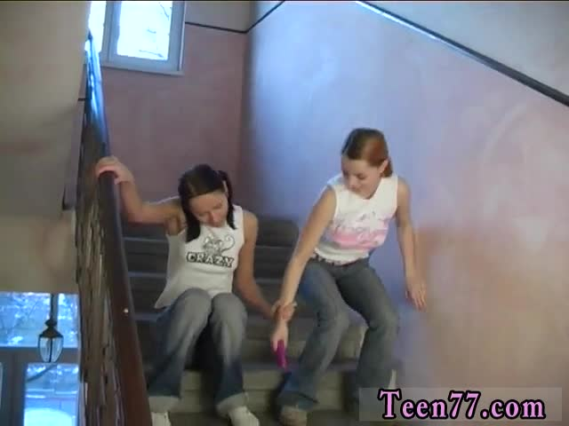 Granny-fuck-teen-girl-lesbian-Young-lesbos-porking-in-a-hallway
