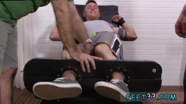 Friend tickles his best friend in an evil tickle dungeon 2