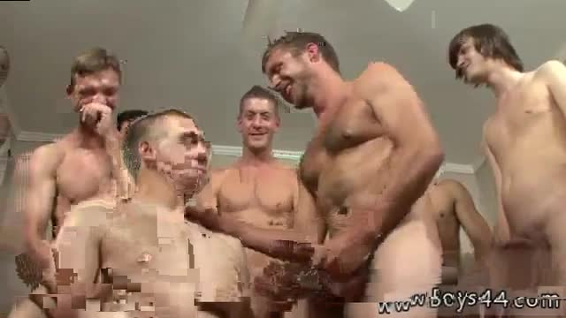 Teen-gay-boy-eat-cum-load-Kriss-Kross-the-Bukkake-Boss