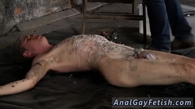 Dark-haired-boy-dick-gay-porn-Chained-to-the-warehouse-floor-and
