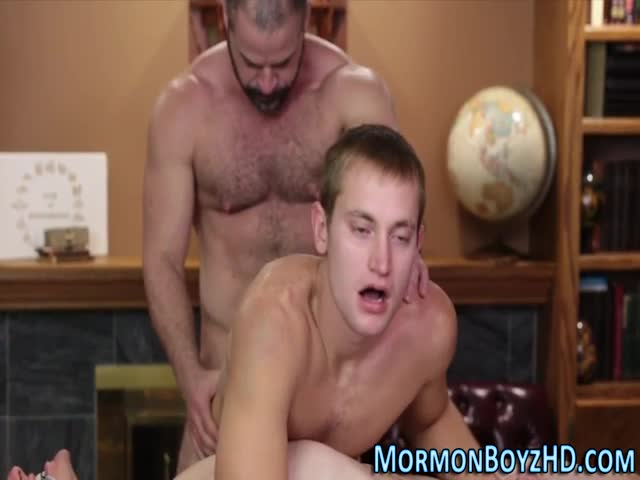 Secret-gay-mormon-milked
