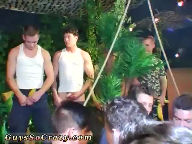 Naked-sexy-man-Dozens-of-studs-go-bananas-for-bananas-at-this