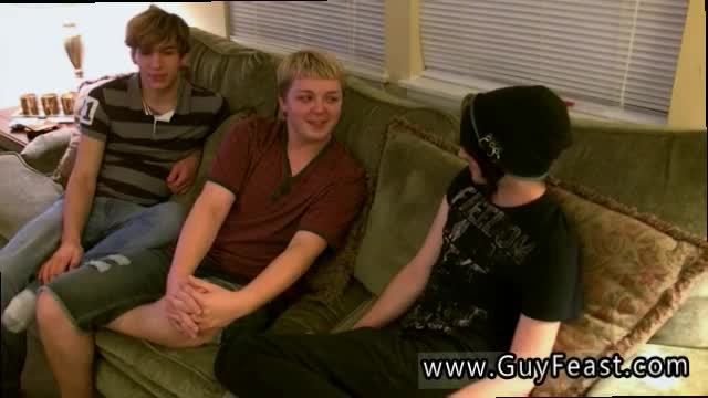 Gay-swallows-cum-facial-Aron-Kyle-and-James-are-hanging-out-on-t