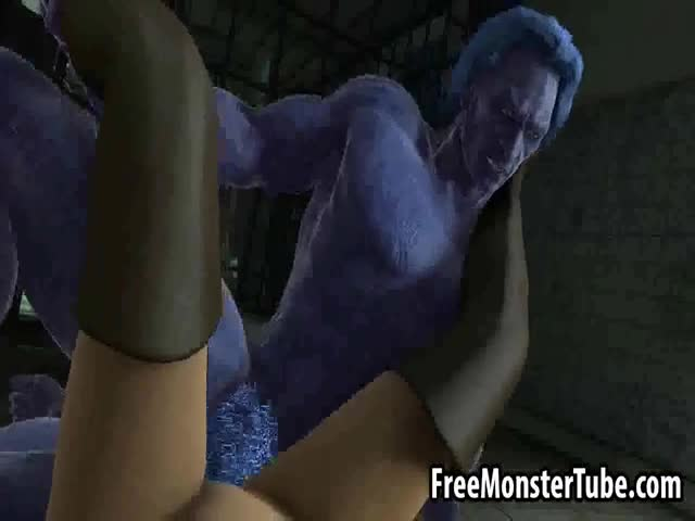 Busty-3D-cartoon-blonde-getting-fucked-by-Beast