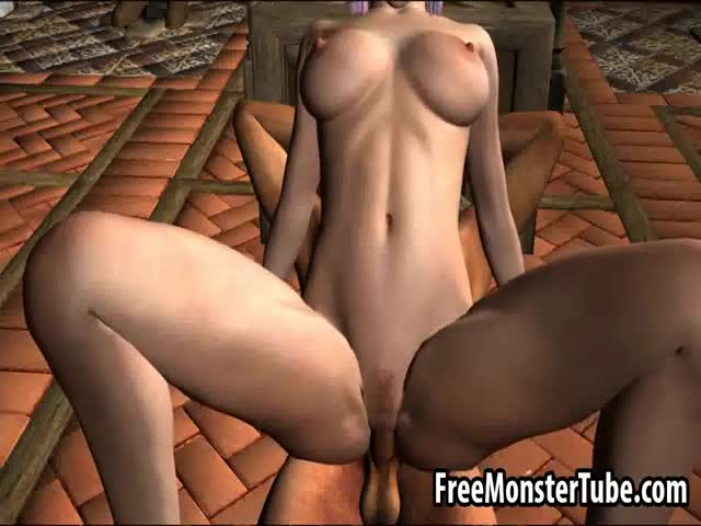 Foxy-3D-cartoon-elf-babe-getting-her-pussy-pounded