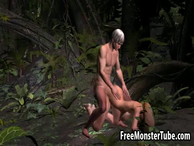 Busty-3D-blonde-babe-getting-fucked-hard-outdoors