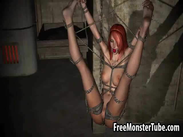Tied-up-3D-redhead-vampire-vixne-getting-fucked