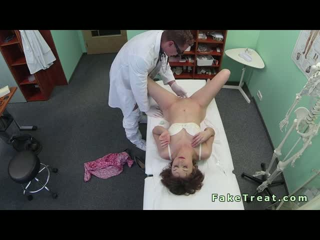 Doctor-remove-sex-toy-from-tight-pussy-of-patient