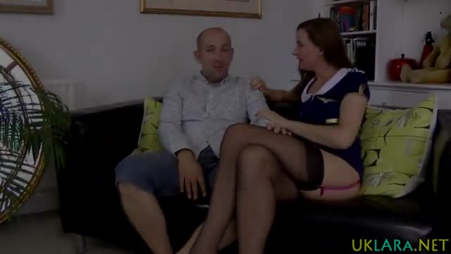 Brit-milf-swallows-cum