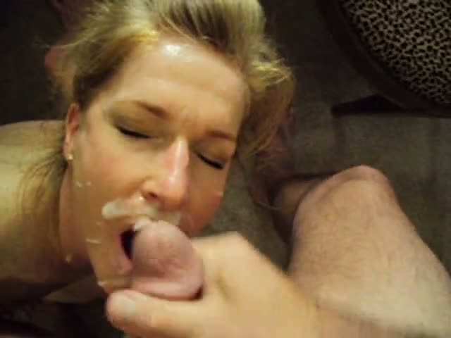 Pretty-blonde-wife-suck-cock-with-the-door-open,she-don-t-care-h