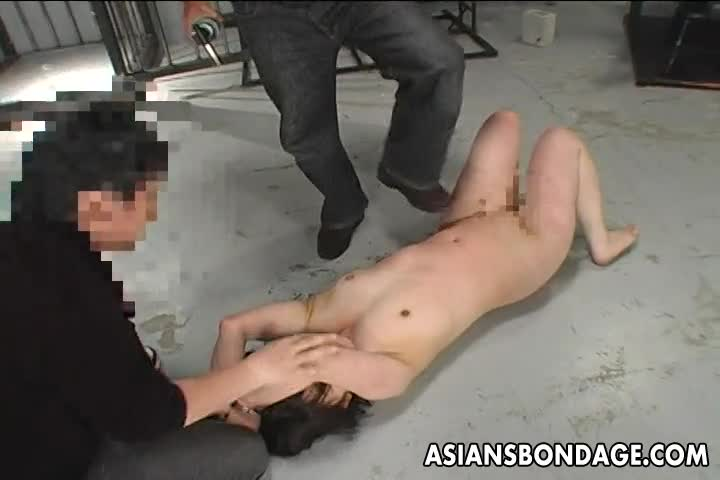 Asian-bitch-has-a-waxing-and-spanking-bdsm-session