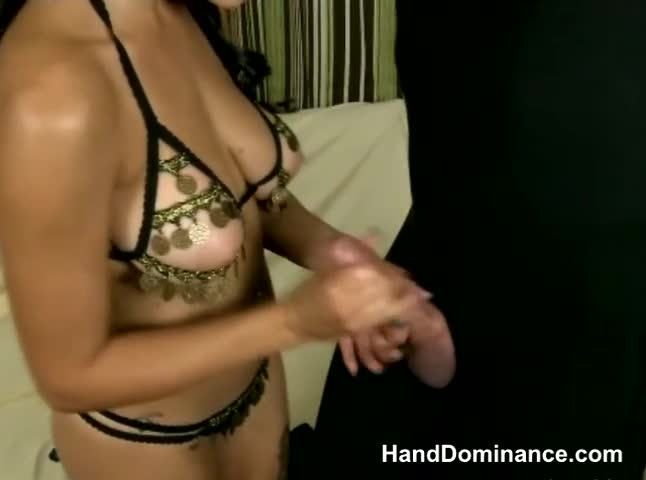 Fetish-princess-jerks-her-sub