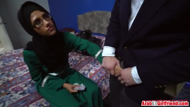 Petite-Arab-girl-looks-amazing-while-riding-big-cock