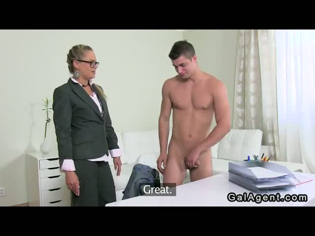 Blonde-female-agent-fucked-by-shy-dude-on-casting