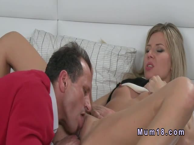 Sexy-blonde-Milf-fucks-from-behind
