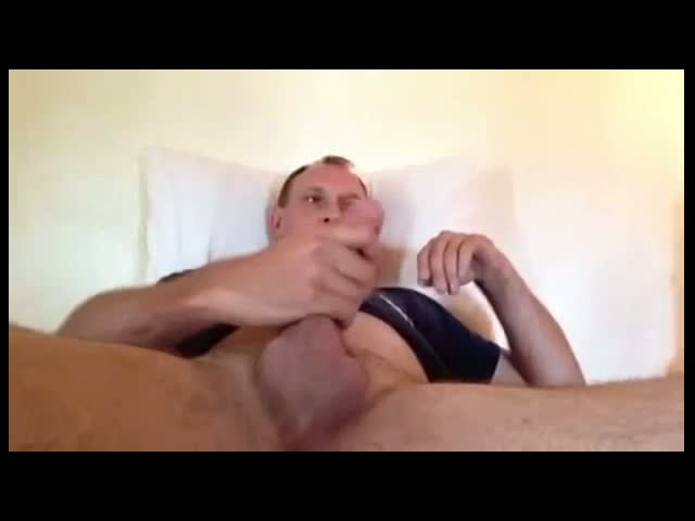 wanking-my-erect-pink-cock-and-cum
