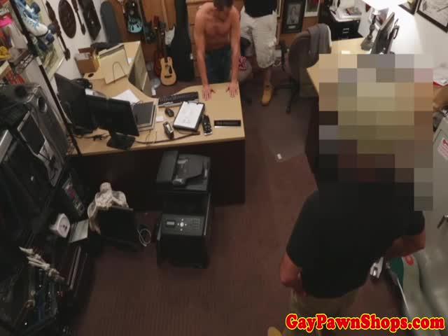Gaybait-pawnshop-amateur-touching-his-cock