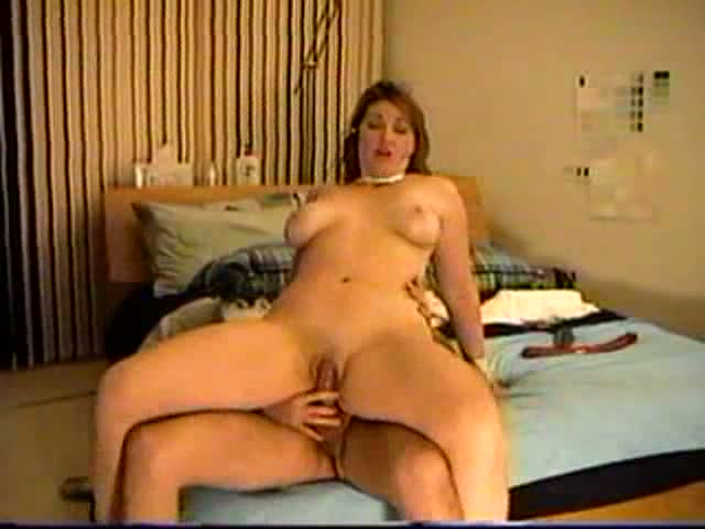 Reverse-Cowgirl-Slut-on-the-phone-while-she-rides-big-cock