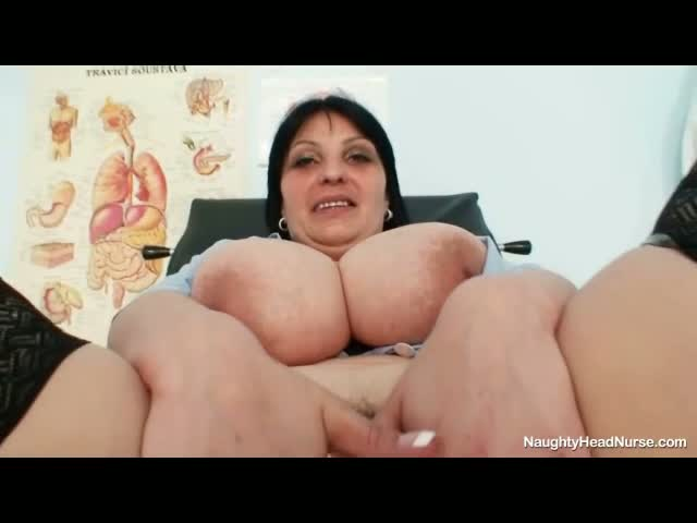 Big-tits-amateur-milf-Zora-toying-her-hairy-pussy