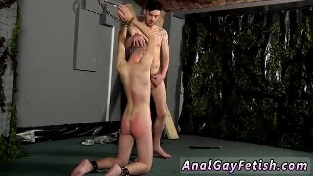 Gay-leather-bondage-fiction-first-time-Slave-Boy-Fed-Hard-Inches