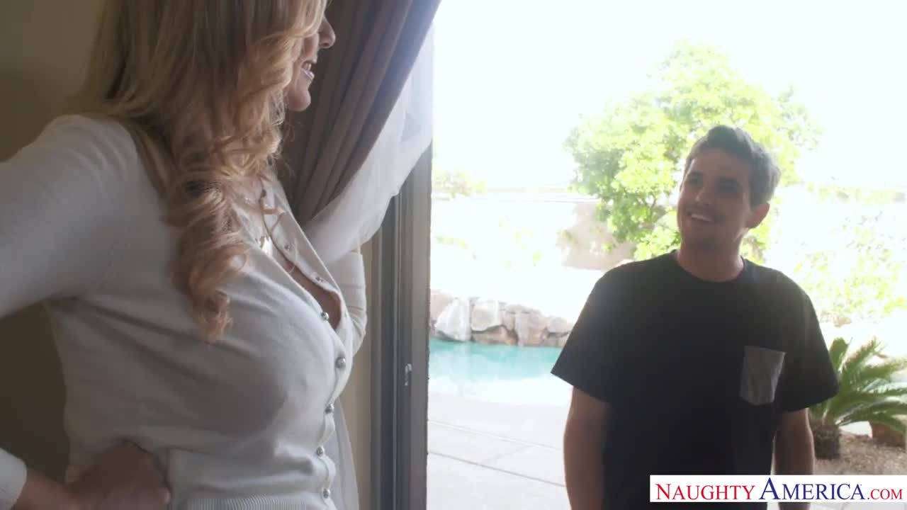 Mom Julia Ann needs sons love