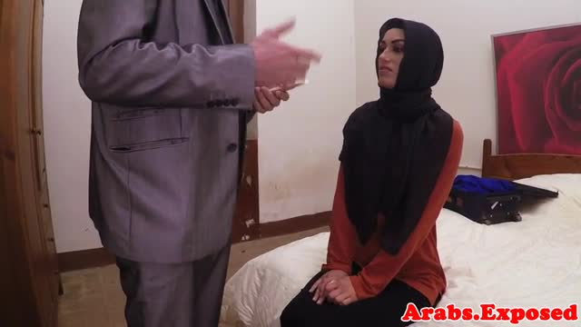 Arab-beauty-pounded-hard-for-cash