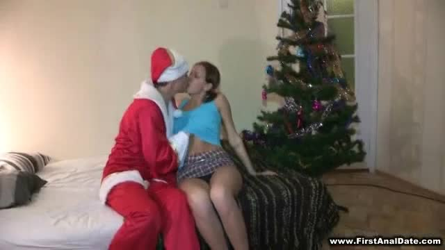 Anal-Santa-in-the-house