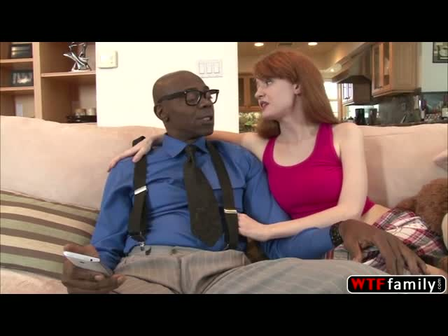 White-sexy-babe-Abby-Rains-loves-to-tasle-her-stepdad-black-cock