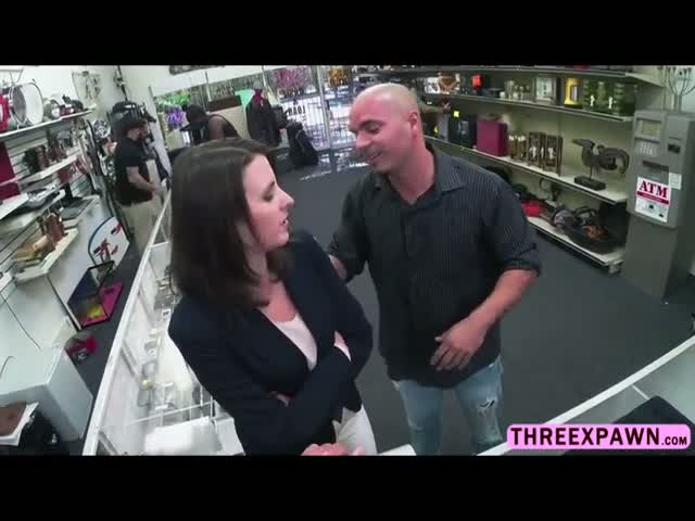 Sexy-amateur-wife-gets-saved-in-a-pawn-shop-when-her-husband-is-