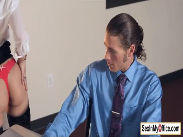 Secretary-Jade-strips-for-her-busy-boss