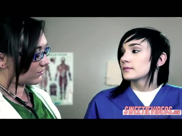 Dr-Sinns-pervert-lesbian-fucking-at-the-clinic-in-scissor-sex