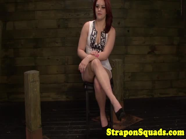 Pathetic-lesbian-dominated-by-strapon-mistresses