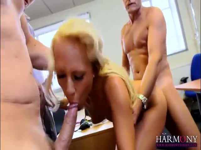 Office-Gangbang