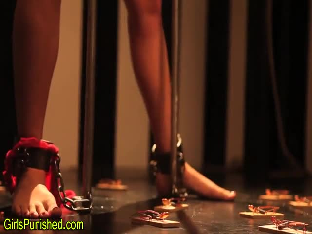 Chained-up-sub-clamped-