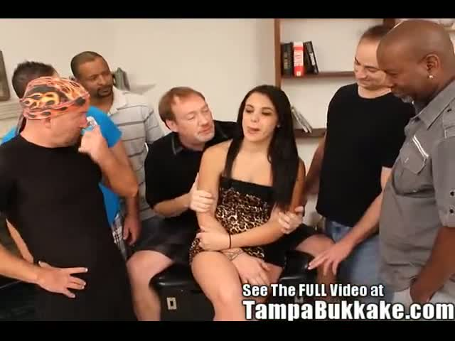Tight-Latina-Slut-Orgy-Party!