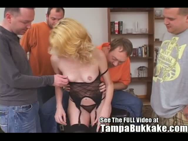 Kathy-a-Slut-wife-on-loan-to-a-Bukkake-party