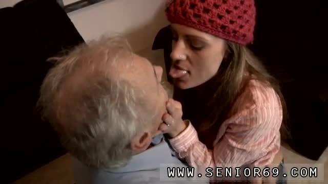 Old-father-daughter-sex-and-hot-blonde-fucks-old-guy-She-even-cl