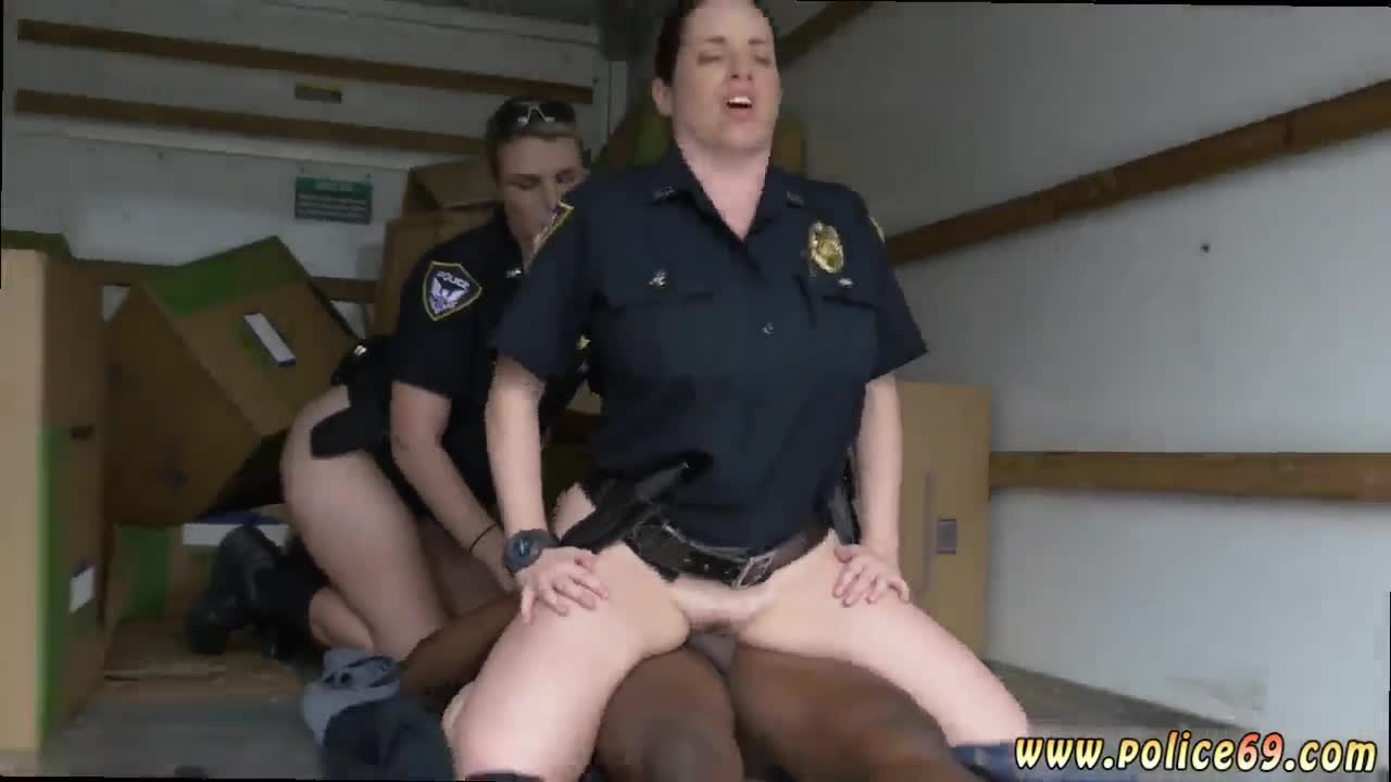 Sexy Police Black Suspect Taken On A Rough Ride