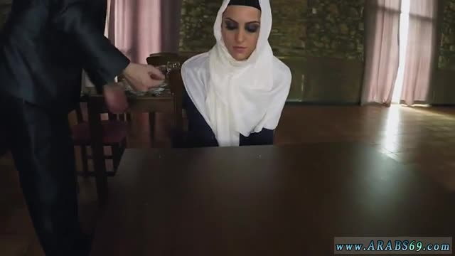 Muslim doctor and arab young girl Hungry Woman Gets Food and Fuck