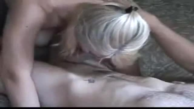 Amatuer-MILF-stops-her-busy-husband-for-a-steamy-blowjob