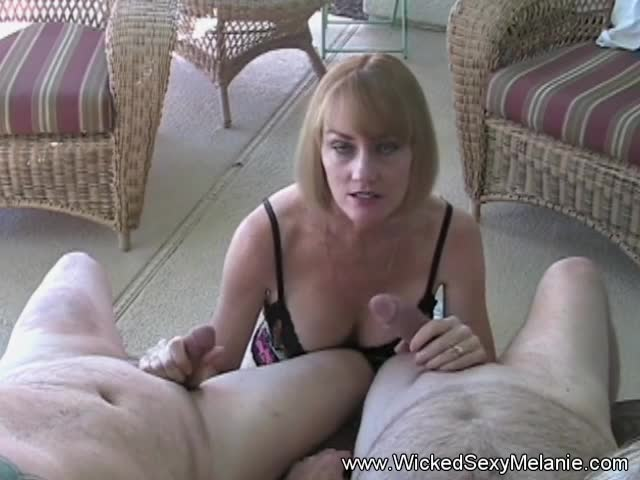 Melanie-with-Two-Cock