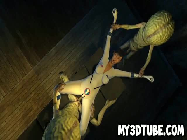 3D-cartoon-babe-getting-double-teamed-by-Martians