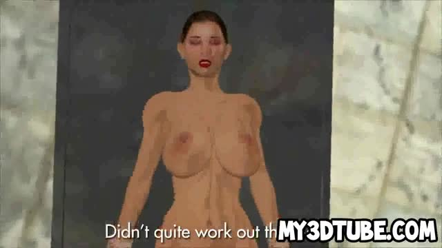 3D-cartoon-babe-sucking-on-a-zombie&-039-s-hard-cock