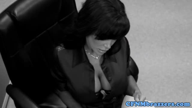 Office-CFNM-femdoms-banging-spying-dude