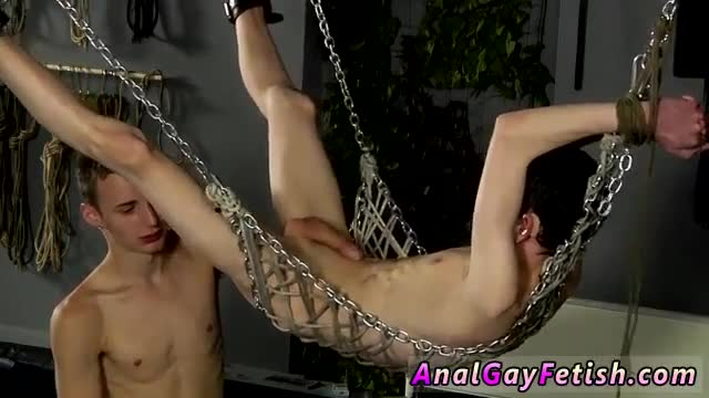 Uncut-shemales-nude-movies-gay-Aaron-finds-himself-trussed-into-