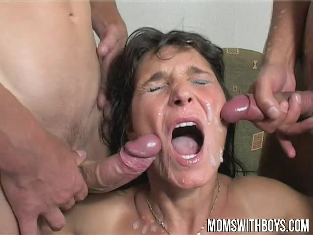 Mama-Rewards-Two-Boys-Hard-Work-With-Hot-DP-Anal-Action