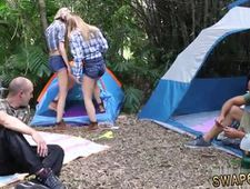 Dad sucks teen friends daughter pussy first time Backwoods Bartering