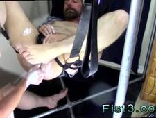 Gay sex black white anal Punch Fisting Bo