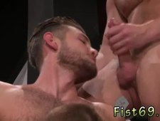 gay cum sex Toned and scruffy Jacob Peterson and Brian Bonds